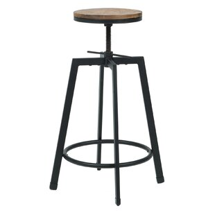 Commercial Seating Products Adjustable Height Swivel Barstool (Set of 2)
