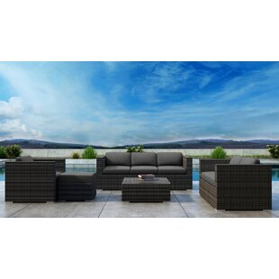 Gilleland 5 Piece Sofa Set with Sunbrella Cushion