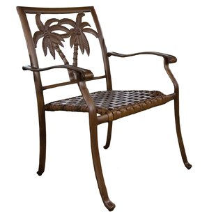 Saskia Stacking Patio Dining Chair