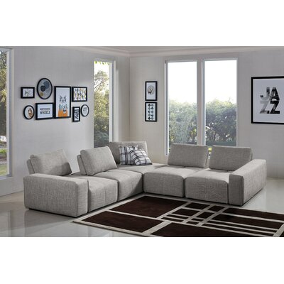 Jazz Modular Sectional Diamond Sofa