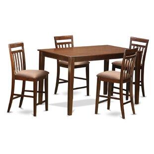 Araminta 5 Piece Counter Height Pub Table Set Alcott Hill