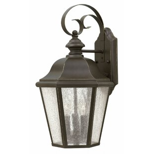 Darby Home Co Christiane 3-Light Outdoor Wall Lantern