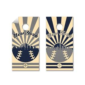 MLB Cornhole Board Decal (Set of 2)