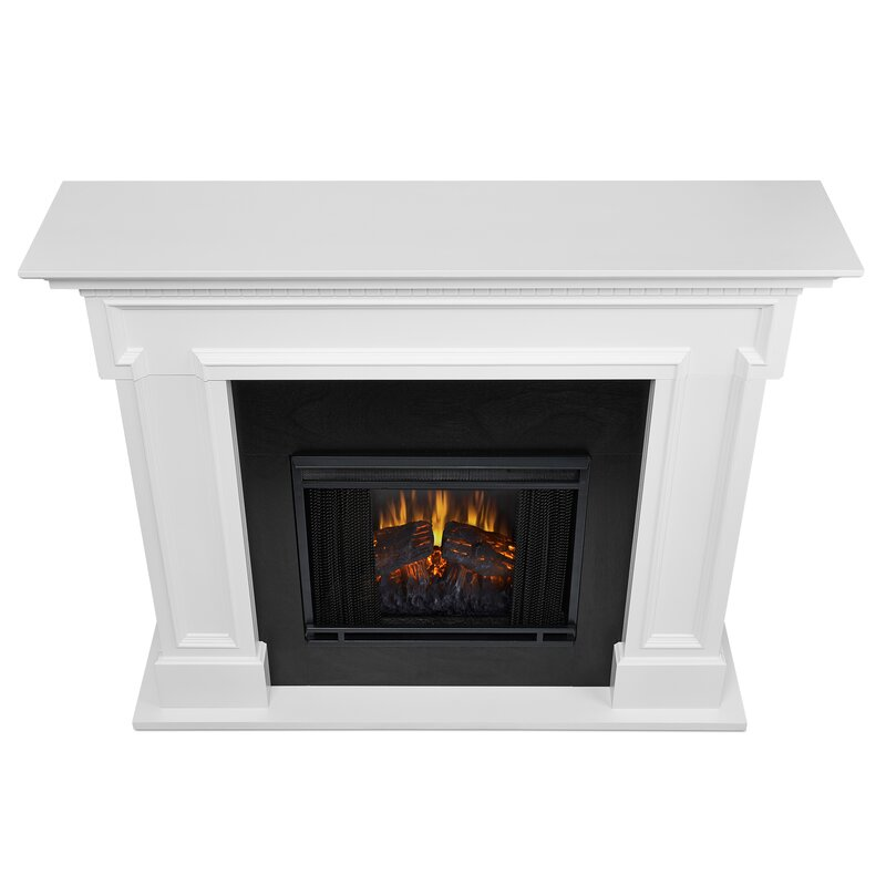 Delightful Real Flame Thayer Electric Fireplace
