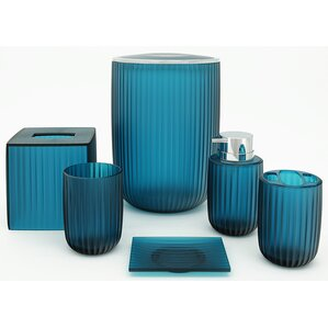 turquoise bathroom accessories sets. Vienne 6 Piece Bathroom Accessory Set Bath Sets You ll Love