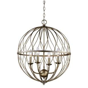 Bernville 4-Light Globe Chandelier