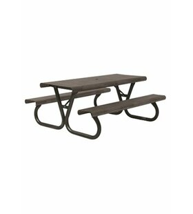 Site Furnishings Aluminum Picnic Table
