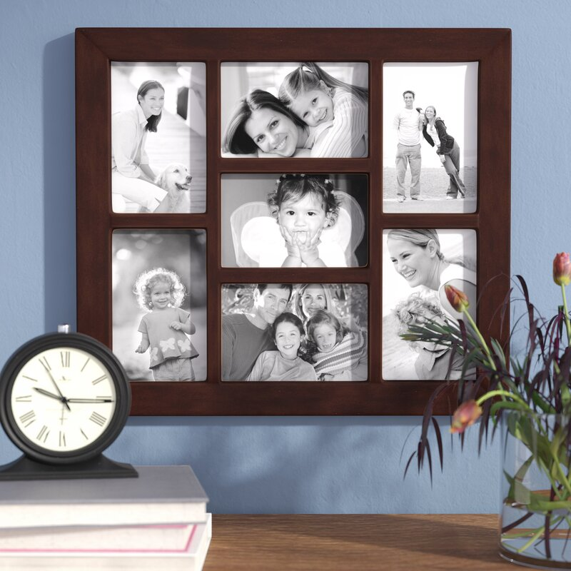 Andover Mills 7 Opening Collage Hanging Picture Frame & Reviews ...