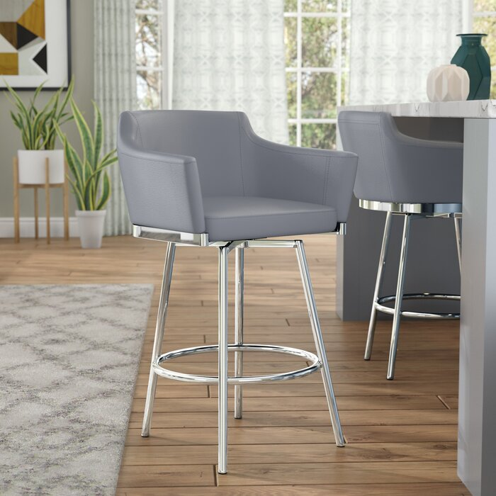 Fine Dusty Bar Counter Swivel Stool Short Links Chair Design For Home Short Linksinfo