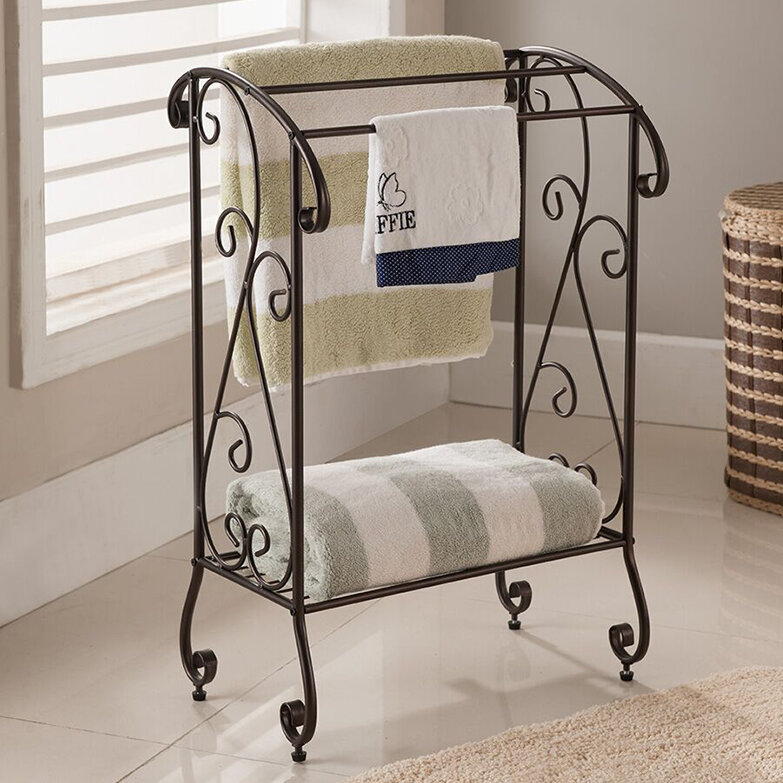 Free Standing Towel Bars Racks And Stands Youll Love Wayfair