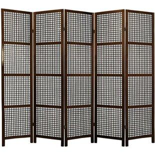 Stoehr Shoji 5 Panel Room Divider