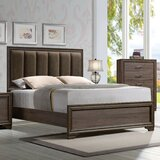 Dungonnell Upholstered Standard Bed by Brayden Studio®
