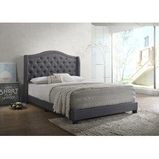 Amara Upholstered Panel Bed by Grovelane Teen