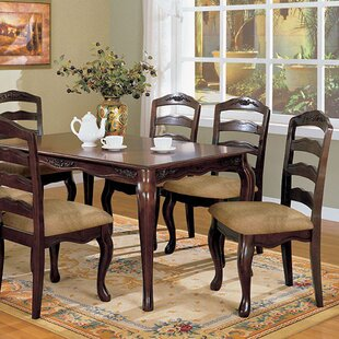 Crutchfield Transitional Dining Table Fleur De Lis Living