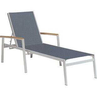Latitude Run Laskowski Teak Chaise Lounge (Set of 2)