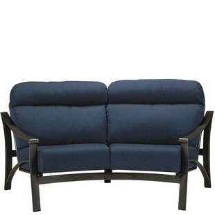 Corsica Crescent Loveseat with Cushions