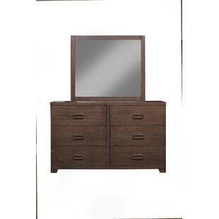 Monalisa 6 Drawer Double Dresser