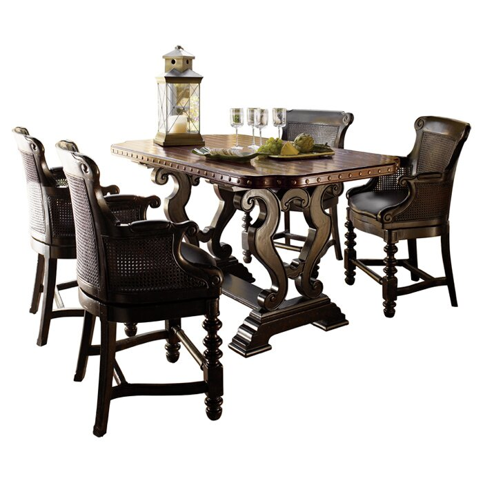 Kitchen Table King Street Tommy bahama home kingstown sienna bistro dining table reviews kingstown sienna bistro dining table workwithnaturefo
