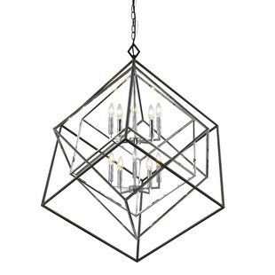 Pederson 10-Light Geometric Chandelier by Brayden Studio