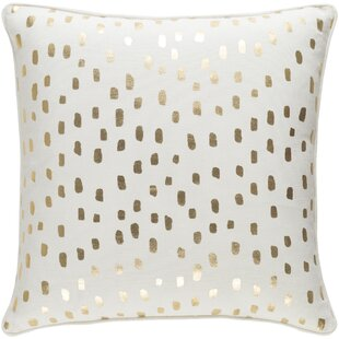 Yahya Dalmatian Dot Cotton Throw Pillow Cover