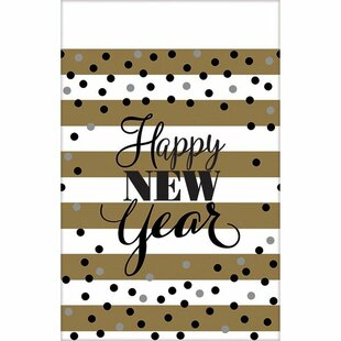 New Year Disposable Tablecloth (Set of 3)
