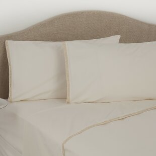 Crochet Trim 275 Thread Count 100% Cotton Fitted Sheet