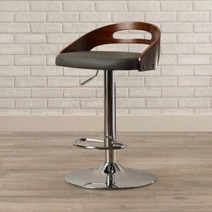 Zarate Adjustable Height Swivel Bar Stool