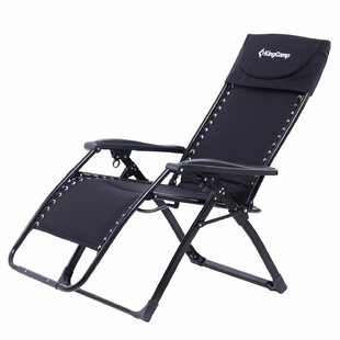 Freeport Park Alyssandra Heavy Duty Reclining Zero Gravity Chair