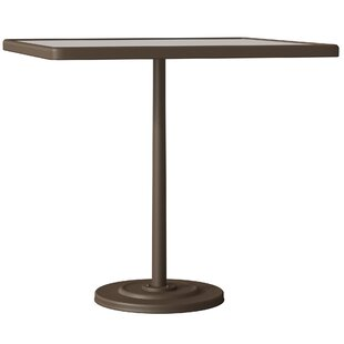 Tropitone Raduno Square Aluminum Bar Table