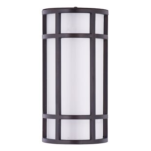 Rickey 1-Light Outdoor Flush Mount By Latitude Run Outdoor Lighting