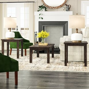 Guerande Occasional 3 Piece Coffee Table Set by Laurel Foundry Modern Farmhouse Wonderful