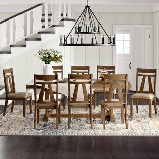 Destiny 9 Piece Dining Set by Laurel Foundry Modern Farmhouse Cool