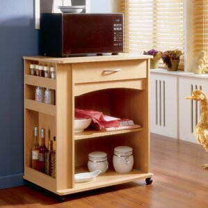 Mazon Microwave Storage Cart by Andover Mills Reviews