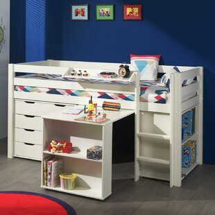 Ethridge European Single Mid Sleeper Bed With Furniture Set By Zoomie Kids