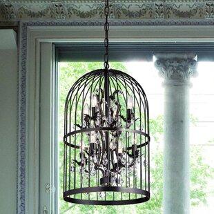 Ophelia & Co. Jaquez 8-Light Lantern Pendant