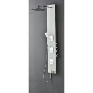 Low priced Pressure Balance Volume Control Rain Shower Panel System By Luxier