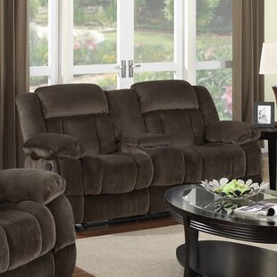 Teddy Bear Reclining Loveseat by Sunset Trading