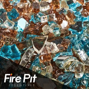 Barksdale Blended Fire Pit Glass
