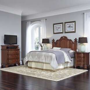 Plains Platform 4 Piece Bedroom Set