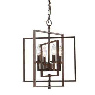 Zoe 4-Light Lantern Chande..
