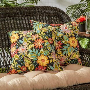 Indoor/Outdoor Throw Pillow (Set Of 2) by Greendale Home Fashions Discount