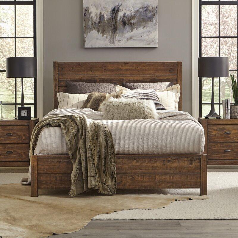 Grain Wood Furniture Montauk Solid Wood Standard 4 Piece Configurable Bedroom Set Reviews Wayfair