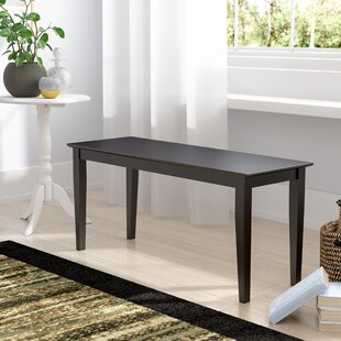 Charlton Home Allwood Wood Bench