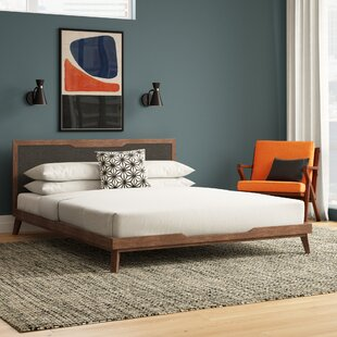 Hali Upholstered Platform Bed by Langley Street 2019 Sale