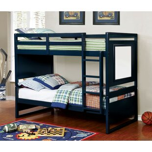 Alcaraz Twin over Twin Bunk Bed by Harriet Bee