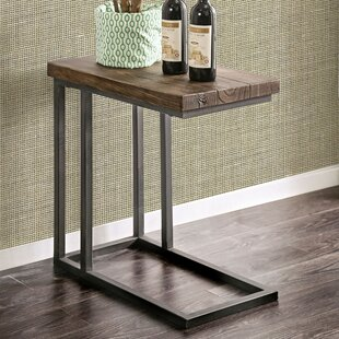 Wilma Industrial End Table by Williston Forge