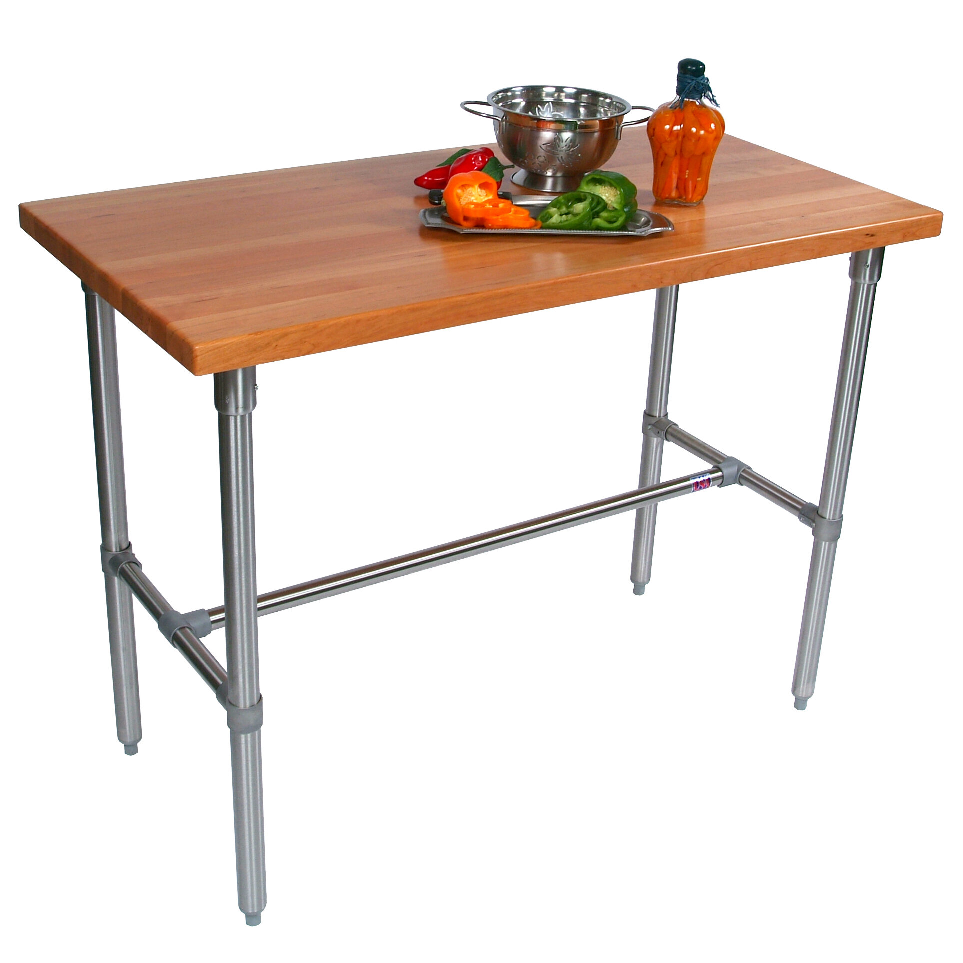 Counter Height Extendable Dining Table