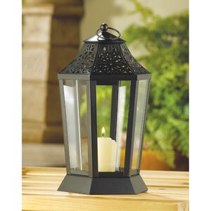 Midnight Garden Iron Lantern