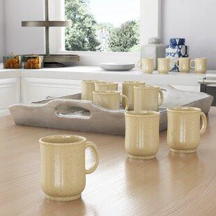 Carrboro Melamine 8 Oz. Coffee Mug (Set of 12)