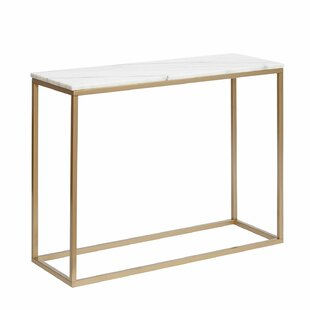 Marble Rectangular Console Table By Wade Logan